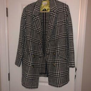 Topshop coat EUC